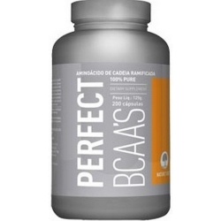 BCAA Perfect Nature's Best - 200 Cápsulas
