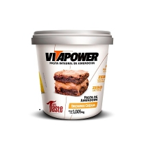 Pasta de Amendoim Integral Brownie Cream (1.005kg) - VitaPower
