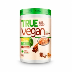 True Vegan sabor Vanilla Chai (418g) - True Source