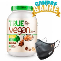 True Vegan sabor Vanilla Chai (837g) - True Source