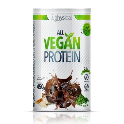 All Vegan Protein Sabor Chocolate (450g) - Physical Pharma