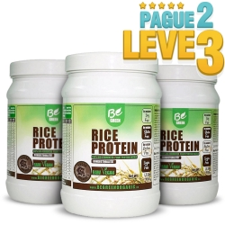 Rice Protein - Proteína do Arroz Sabor Baunilha (1Kg) - Be Green (Pague 2 Leve 3) Val: 04/21