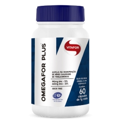 Omega For Plus - Vitafor - 120 Cápsulas