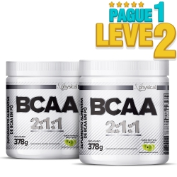 BCAA 2:1:1 (378g) - Physical Pharma (Pague 1 Leve 2)