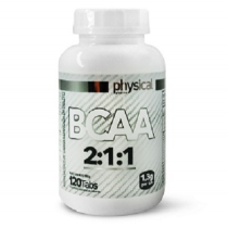 BCAA 2:1:1 -1,3g (120 Tabletes) - Physical Pharma