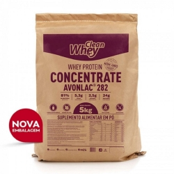 Avonlac - Whey Protein Concentrada - Clean Whey - 5Kg