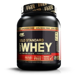 100% Whey Protein Gold Standard 20% More FREE (1.09kg) - Optimum Nutrition