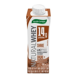Shake Natural Whey (250ml) - Verde Campo