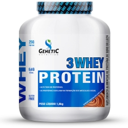 3 whey Protein (1,8Kg) - Genetic Nutrition