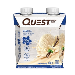 Quest Protein Shake (Pack com 4 Unidades de 325ml cada) RTD - Quest Nutrition