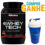 4 Whey Tech (907g) - Athletica Evolution