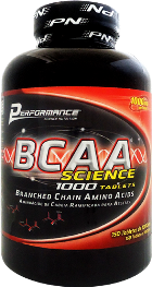 BCAA Science 1000 Tablets Performance Nutrition - 150 tabletes de 1000mg