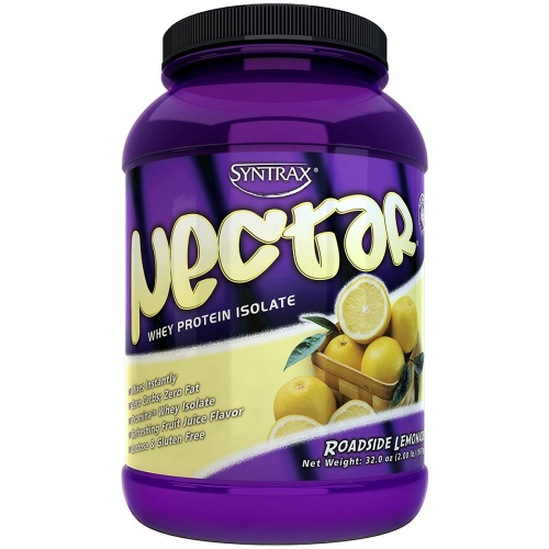 Nectar Whey Protein Isolado Syntrax Capuccino - 907 g