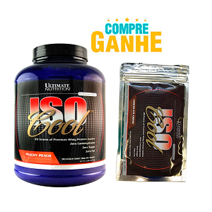 Isocool - Ultimate Nutrition - Cereja - 2.270g Compre e Ganhe + 1 Amostra de Iso Cool