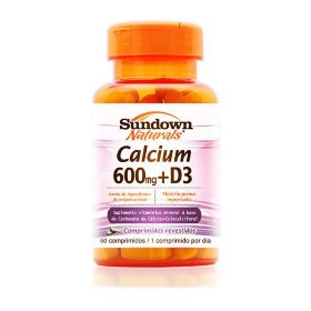 Calcio 600mg + Vitamina D3 - Sundown