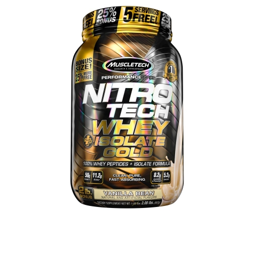 Nitro Tech Plus Whey Gold Isolate  (907g) - Muscletech